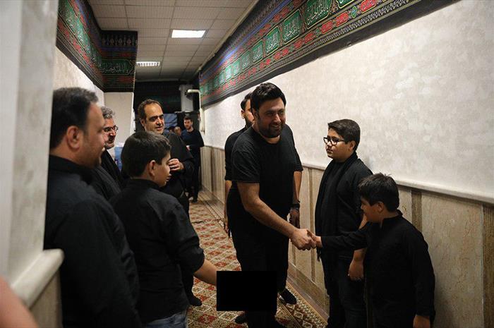 هنرمندان در مراسم تاسوعای حسینی