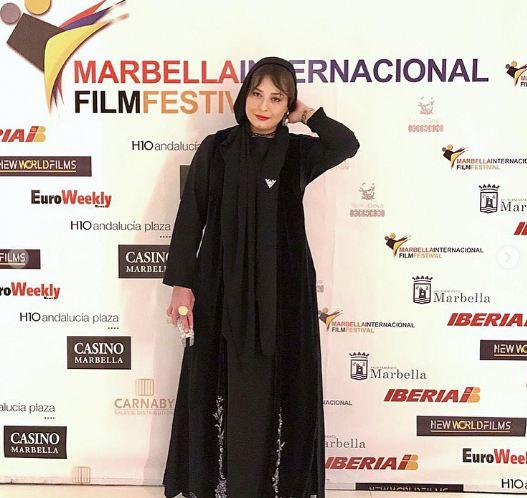 لباس مهراوه شریفی نیا در اسپانیا