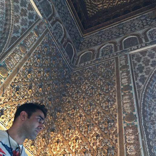 پوریا پورسرخ در کاخ الکازار