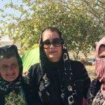 هنرمندانی که برای بازدید از مناطق زلزله زده به کرمانشاه رفتند!