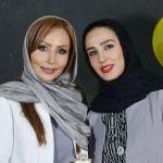 جشن تولد پرستو صالحی در کنار بازیگران مشهور سینما
