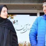 حضور افسانه کمالی و محمدرضا غفاری در برنامه زنده رود!