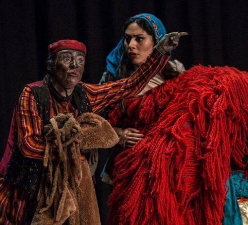 مونا فرجاد در شیرهای خان بابا سلطنه
