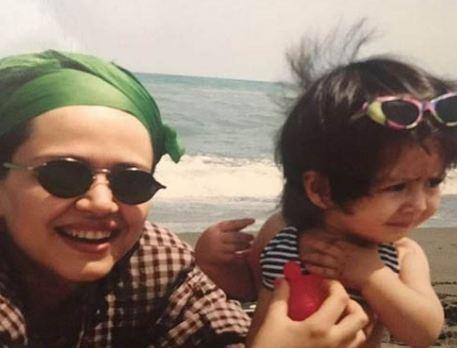 مهاجرت دختر بهاره رهنما