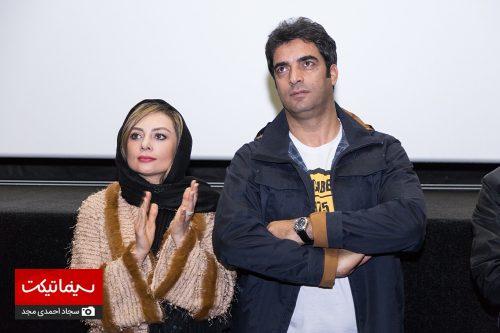 محمدرضا گلزار در اکران فیلم آینه بغل