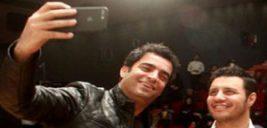 اکران مردمی فیلم آینه بغل با حضور جواد عزتی در مشهد!