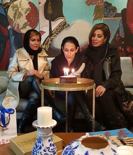 جشن تولد شهرزاد مدیری