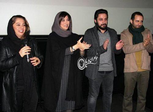 مهتاب کرامتی در اکران فیلم اسرافیل