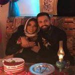 عکسهای محسن افشانی در کنار همسرش سویل تیانی خیابانی!