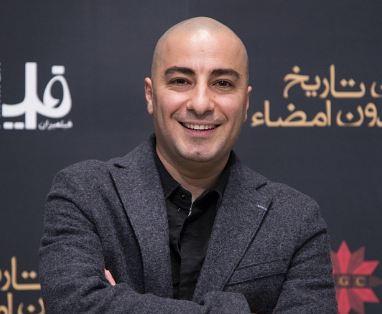 نوید محمدزاده در مراسم اکران مردمی «بدون تاریخ،بدون امضا»