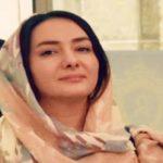 هانیه توسلی در اکران مردمی فیلم مادری در شهر یزد!