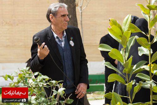 مراسم سالگرد درگذشت علی معلم
