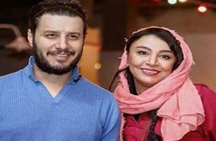جواد عزتی و همسرش در اکران فیلم سینمایی خرگیوش!