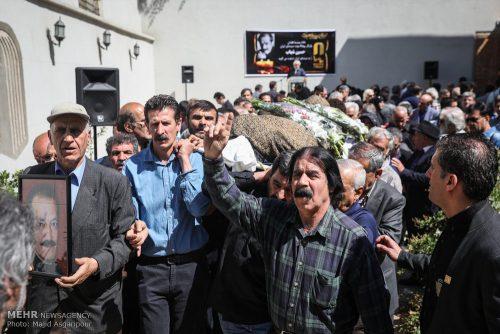 مراسم تشییع پیکر حسین شهاب