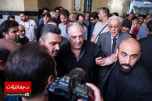 مراسم یادبود درگذشت ناصر ملک مطیعی