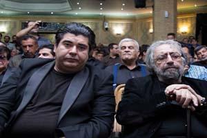 مراسم یادبود درگذشت ناصر ملک مطیعی با حضور چهره ها