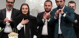تیپ بازیگران در افتتاحیه مستند سریک با بازی سردار آزمون و کارگردانی بهاره افشاری+تصاویر