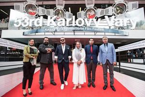 چهره های مشهور ایرانی بر روی فرش قرمز جشنواره کارلووی واری+تصاویر