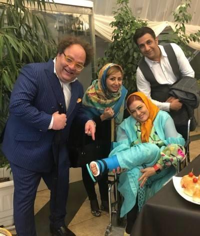 جشن تولد سام درخشانی