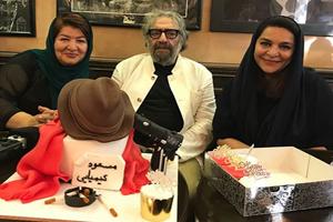 سلبریتی های مشهور ایرانی در جشن تولد مسعود کیمیایی +تصاویر