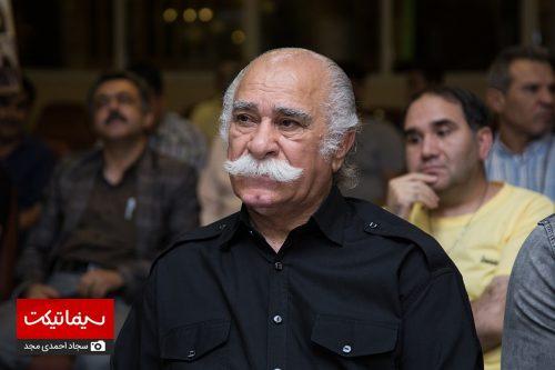 مراسم چهلم ناصر ملک مطیعی