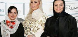 کمند امیرسلیمانی و الهام پاوه نژاد در گردهمایی طراحان برتر لباس +تصاویر