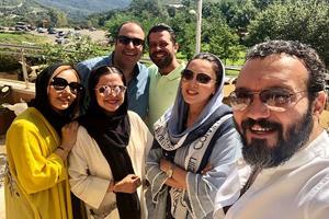 هنرمندان سرشناس در مراسم برگزاری اولین جشن نفس اردبیل +تصاویر
