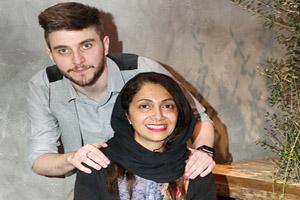 اکران مردمی فیلم شعله ور با حضور امین حیایی به همراه همسر و فرزندش +تصاویر