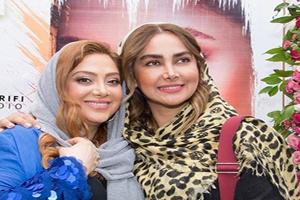 بازیگران زن در سالگرد تاسیس سالن زیبایی شیمر مریم سلطانی +تصاویر