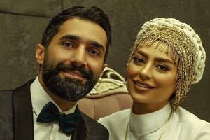 فیلم و عکس عروسی سمانه پاکدل و هادی کاظمی بازیگران معروف سینما