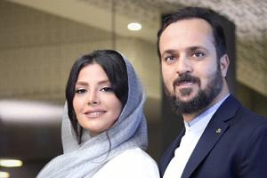 اکران خصوصی فیلم راه رفتن روی سیم با حضور احمد مهرانفر و همسرش +تصاویر