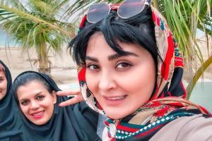 تیپ های عجیب مریم معصومی بازیگر کشومان در کنسرت خوانندگان +تصاویر