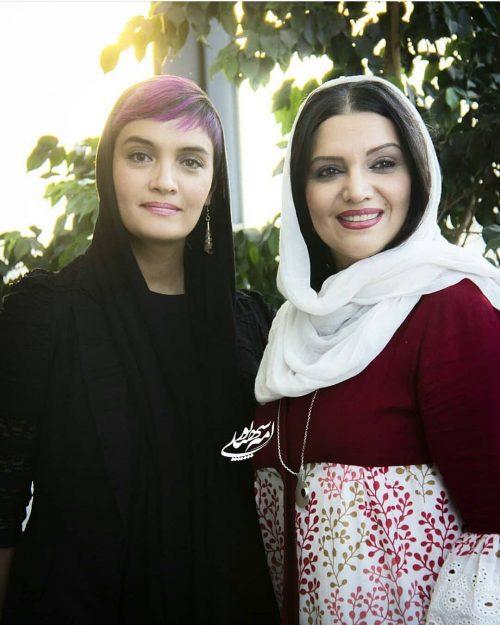 هانیه توسلی در اکران چاووش