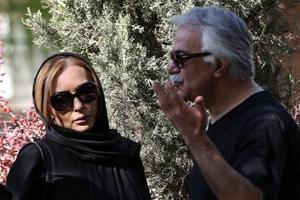 مراسم تشییع سعید کنگرانی با حضور خانواده اش و هنرمندان +تصاویر