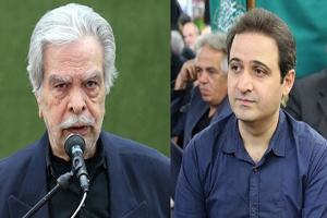 مراسم ختم حسین عرفانی با حضور دوبلورهای سرشناس +تصاویر