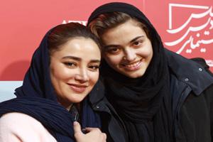 اکران مردمی فیلم سریک با حضور بهاره افشاری و ریحانه پارسا در مشهد +تصاویر