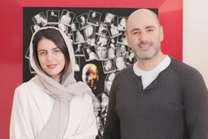 عکس های لیلا حاتمی در نمایشگاه عکس پیام ایرایی در موزه هنرهای زیبا