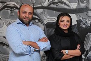 چهره های سرشناس در نمایشگاه خاص آقای بزرگمهر حسین پور +تصاویر