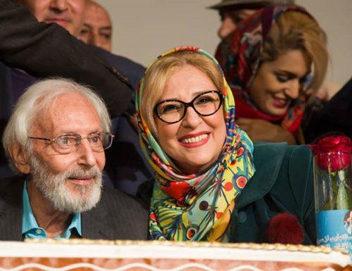 چهره ها در مراسم نکوداشت سالروز تولد جمشید مشایخی در خانه هنرمندان +تصاویر