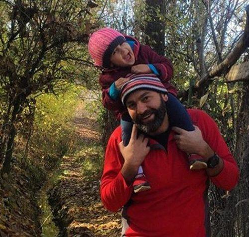 دلنوشته عاشقانه آرش مجیدی برای دخترش میشا +تصاویر