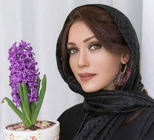عکس های شهرزاد کمال زاده بازیگر ایرانی به عنوان مدل آرایشی