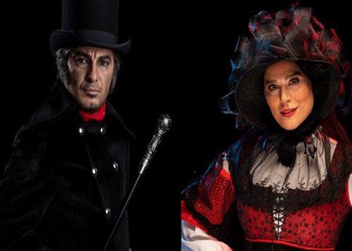 گریم بازیگران مشهور در نمایش موزیکال بینوایان از سحر دولتشاهی تا نوید محمدزاده +تصاویر