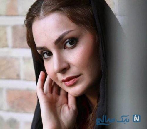 ازدواج مهدیه نساج و سامرند معروفی بازیگران سریال مینو +تصاویر