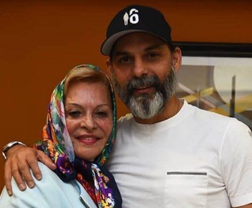 پیمان معادی و مادرش در اکران مردمی فیلم بمب یک عاشقانه +تصاویر