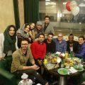 دورهمی بازیگران و فوتبالیست های سرشناس در تولد ابراهیم کوخایی +تصاویر