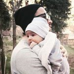 فرزند سوم بنیامین بهادری خواننده پاپ به دنیا آمد عاشقانه های وی برای همسر و فرزندانش +تصاویر