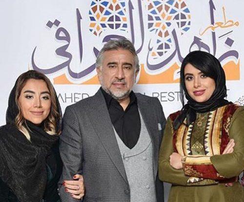 گرامیداشت محمود دینی بازیگر ایرانی با حضور هنرمندان سرشناس بعد از بازگشت +تصاویر