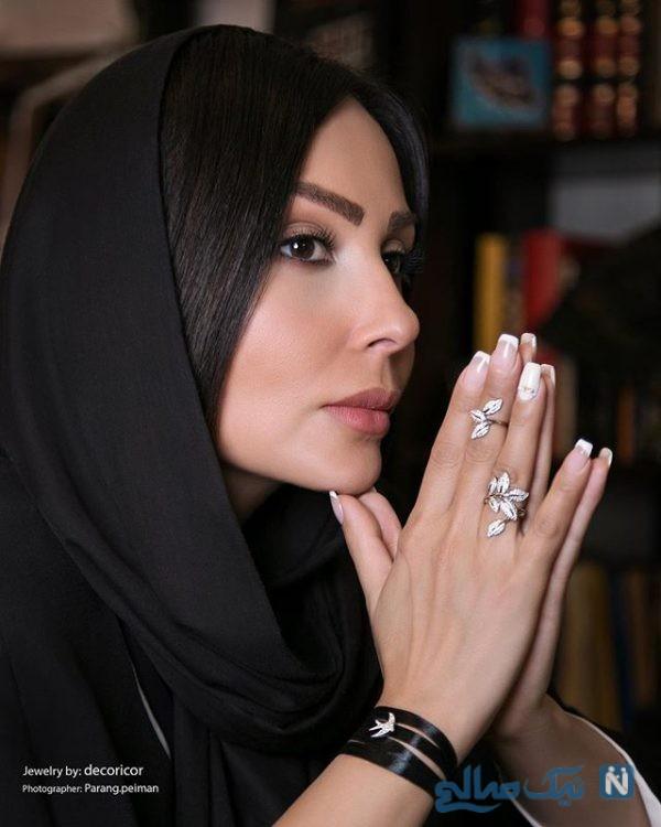 ازدواج پرستو صالحی بازیگر کشورمان به هم خورد +فیلم و تصاویر