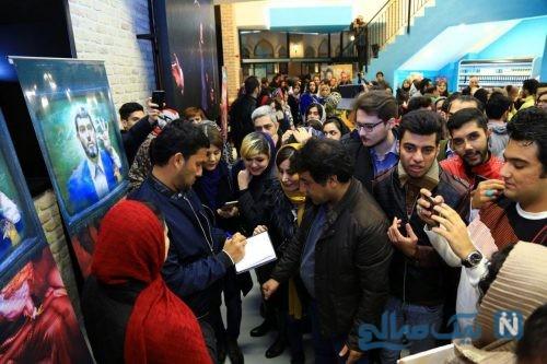 اکران مردمی فیلم سینمایی مارموز با حضور حامد بهداد و ساناز طاری +تصاویر