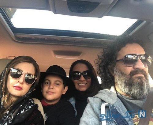 تولد ۱۱ سالگی نویان پسر مهراب قاسم خانی و تبریک خاص وی به پسرش +تصاویر